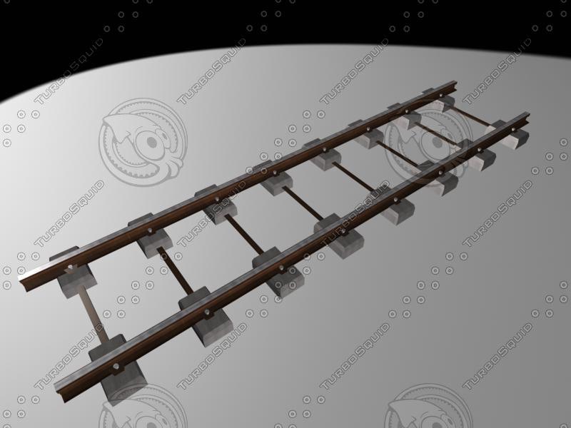 3d model medium track