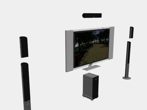 plasma tv surround max