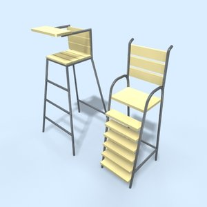 umpire chairs 3ds