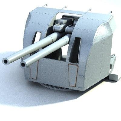 4 gun 3d lwo