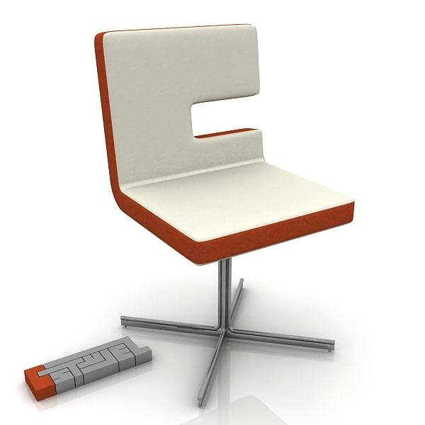 bernini st tropez chair 3d max