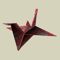crane origami.max