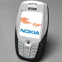 3d model nokia 6600