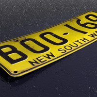 3ds max nsw numberplate plate