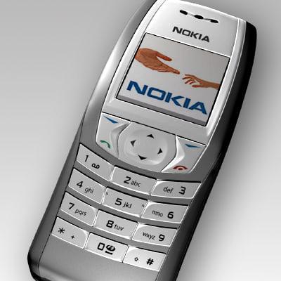 3d model nokia 6610i