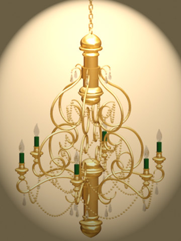 3ds max chandilier6