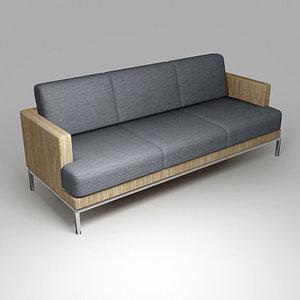 bonacina flo sofa 3d max