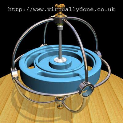gyroscope balance 3d 3ds