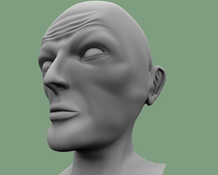 3d model demon guy
