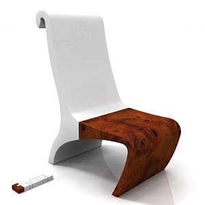 3d diego sinatra banco chair model
