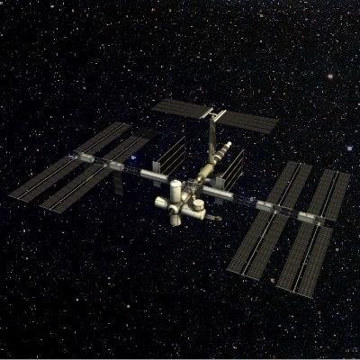 3d model sky lab
