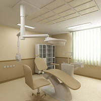 dentist room 3d model
