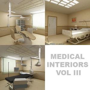 3d model surgery room