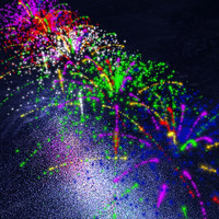 particle fireworks 3d model