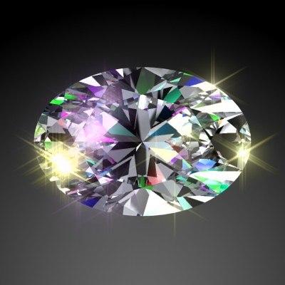 cut diamond 3d max