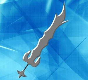 free sword gmax w 3d model