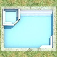 3dsmax outdoor pool 1
