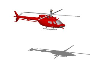 helicopter oh-58d 3ds