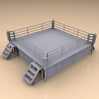 boxing ring 3d 3ds