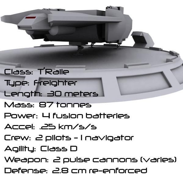 3d narn ship