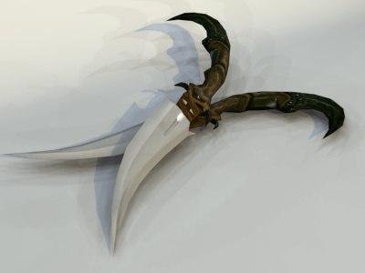 3ds max dagger pc ps2