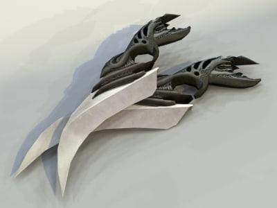 dagger pc ps2 3d max