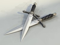 dagger pc ps2 3d model