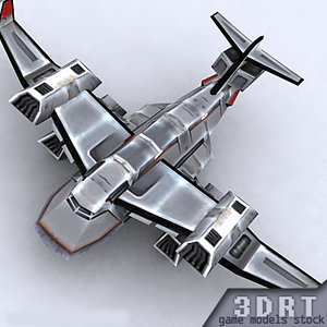 3ds sci-fi bomber