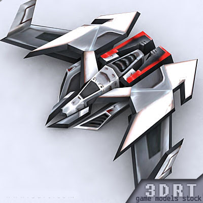 3ds max sci-fi bomber