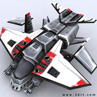 sci-fi gunship aircraft games 3ds