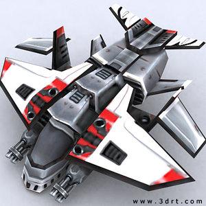 sci-fi gunship aircraft games 3ds