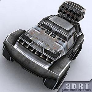 sci-fi jeep 3ds