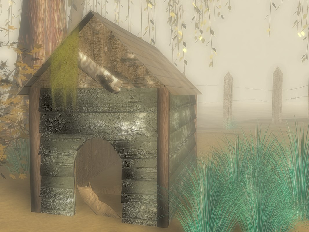 doghouse home 3d model