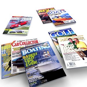 3d model man magazines