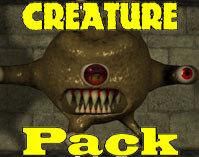 3dsmax creature monsters