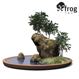 xfrogplants bonsai smooth-leaved elm 3d max