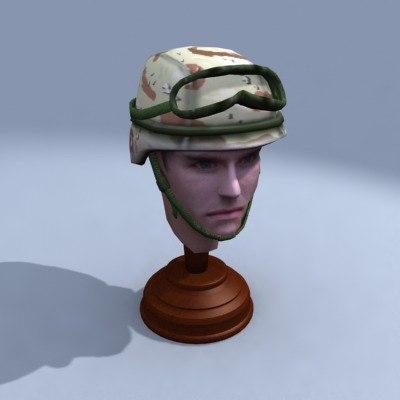 pasgt head 3d model