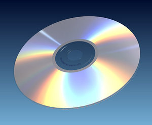 3d cd disk