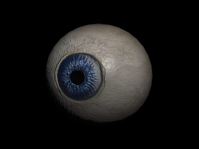 3d max eyeball gmax
