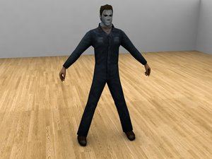 michael myers form 3d 3ds