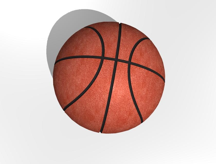 basketball basket ball 3d 3ds