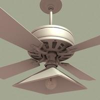 ceiling fan vintage 3d ma