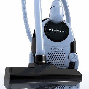 3d model vacuum electrolux 6716