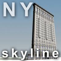 NY skyline - flatiron building.zip
