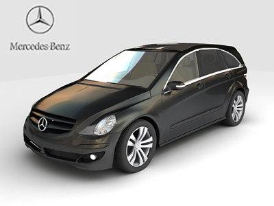 3d mercedes-benz r-class