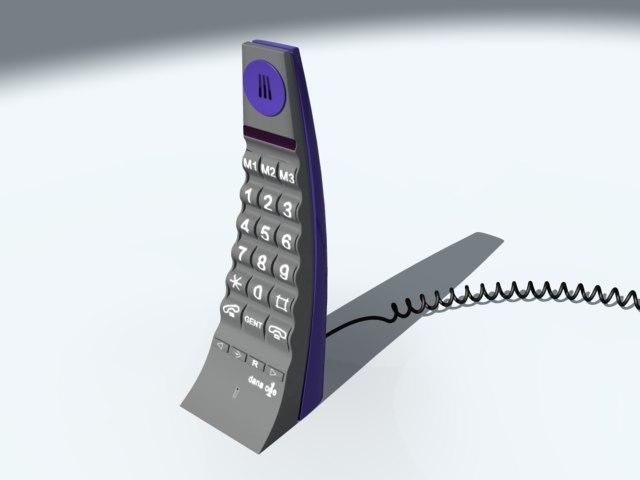 3d telephone dana