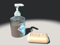 Soap piece and soap dispenser