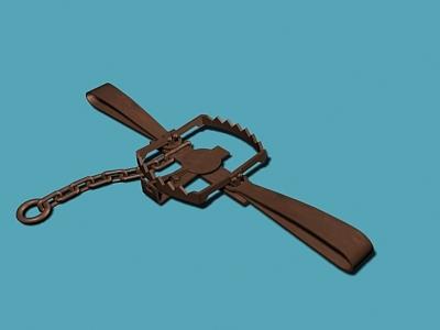 maya beartrap trap