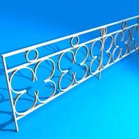 3d railing verandah