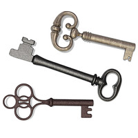 3d 3 skeleton keys model